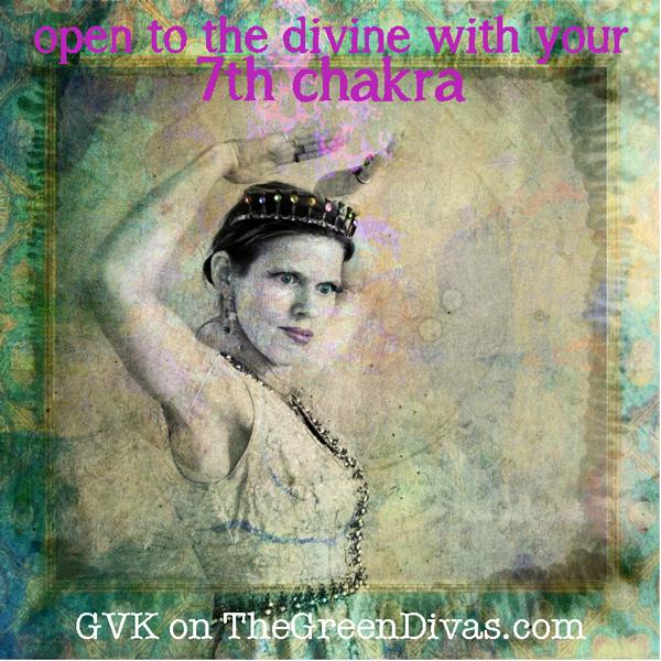 GVK - 7th chakra girl on the green divas