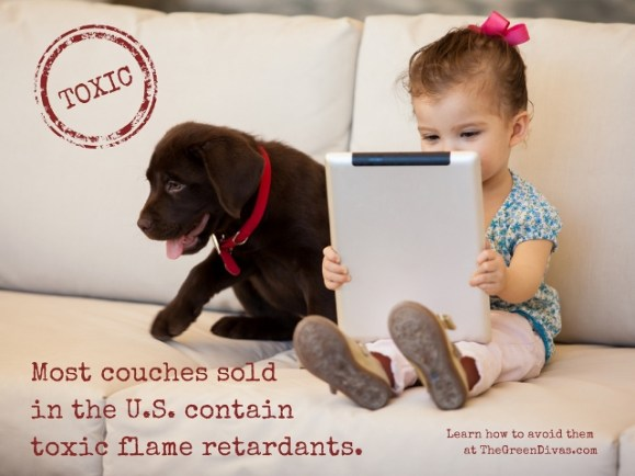 toxic flame retardants in couch