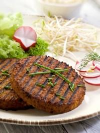 vegan bbq burgers