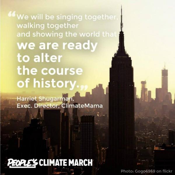 climate mama harriet shugarman quote