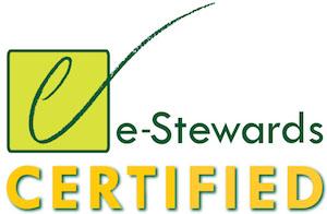 e-steward certified logo e-waste recycling