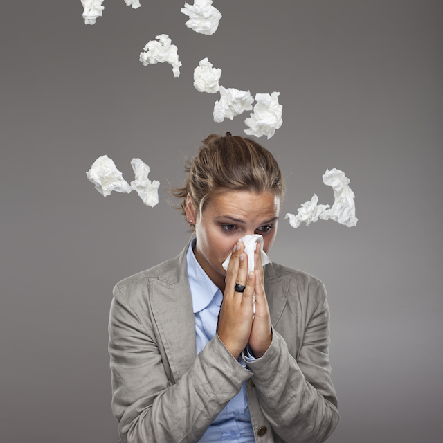 allergies, sick