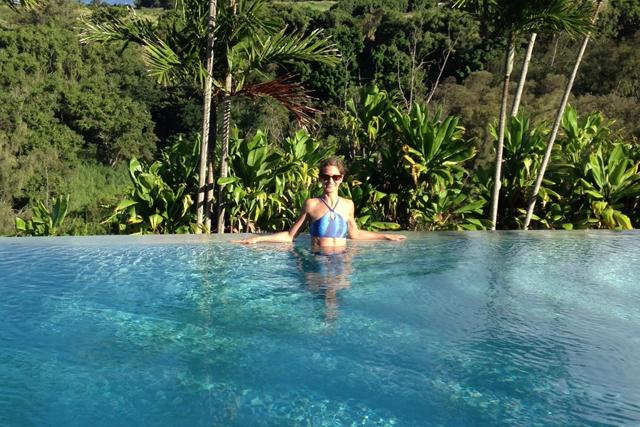 Green Diva Lynn Models Korus Swimwear