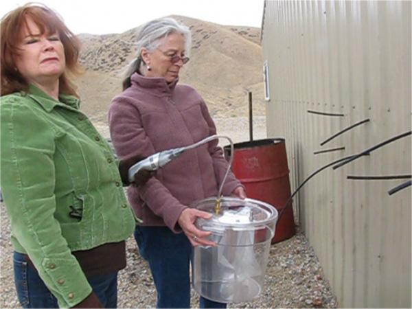 frack testing women
