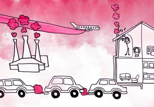 pink cars planes house
