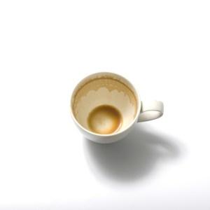 empty coffee mug for MLK
