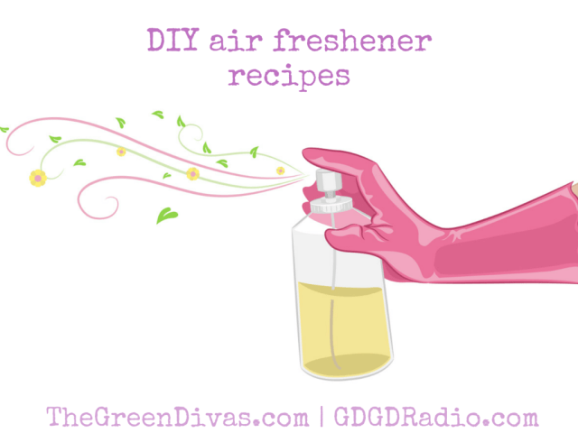DIY air freshener recipes