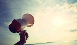 activism megaphone