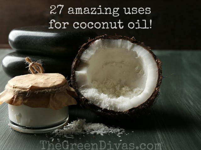 27 Amazing uses for coconut oil