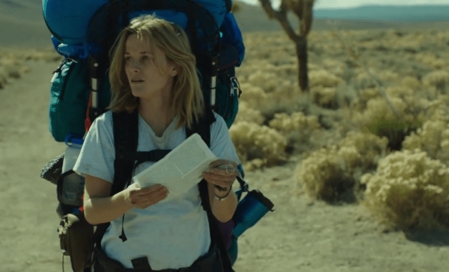 Screenshot from wild with reese witherspoon