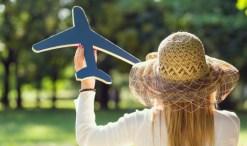 green travel, airplane