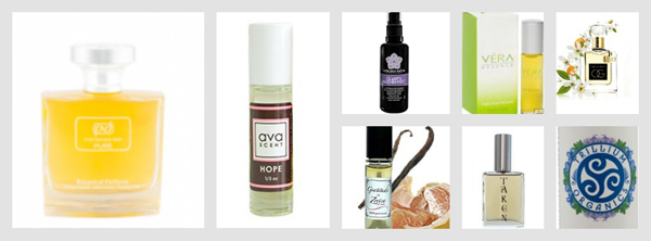 7 nontoxic fragrance collage