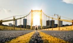 solar-powered cars on the sunny highway