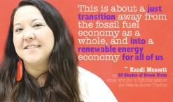 Kandi Mossett quote on 50 shades of green divas on #noDAPL
