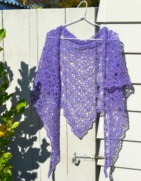 Very Easy Crochet Shawl Patterns | myideasbedroom.com