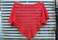 Crochet Pattern Small Shawl ~ Dancox for