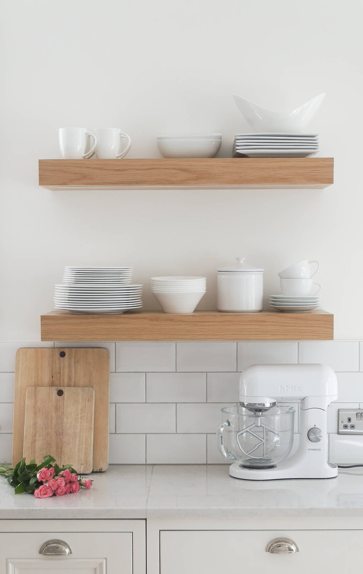 Shelving For Kitchen 3 Ways To Style Open Kitchen Shelves The Green Eyed Girl