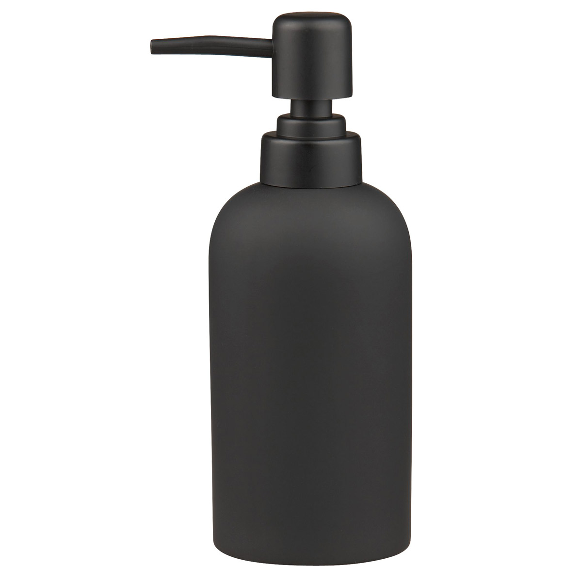 Black Automatic Soap Dispenser Black Rubber Coated Soap Dispenser The Green Head