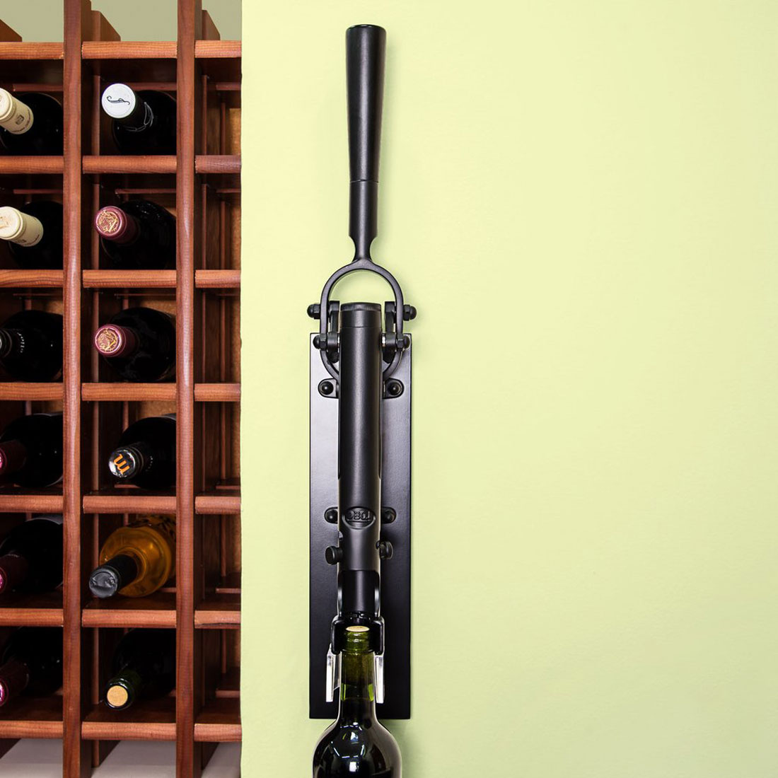 Wall Mounted Wine Openers Boj Professional Wall Mounted Corkscrew Wine Bottle Opener