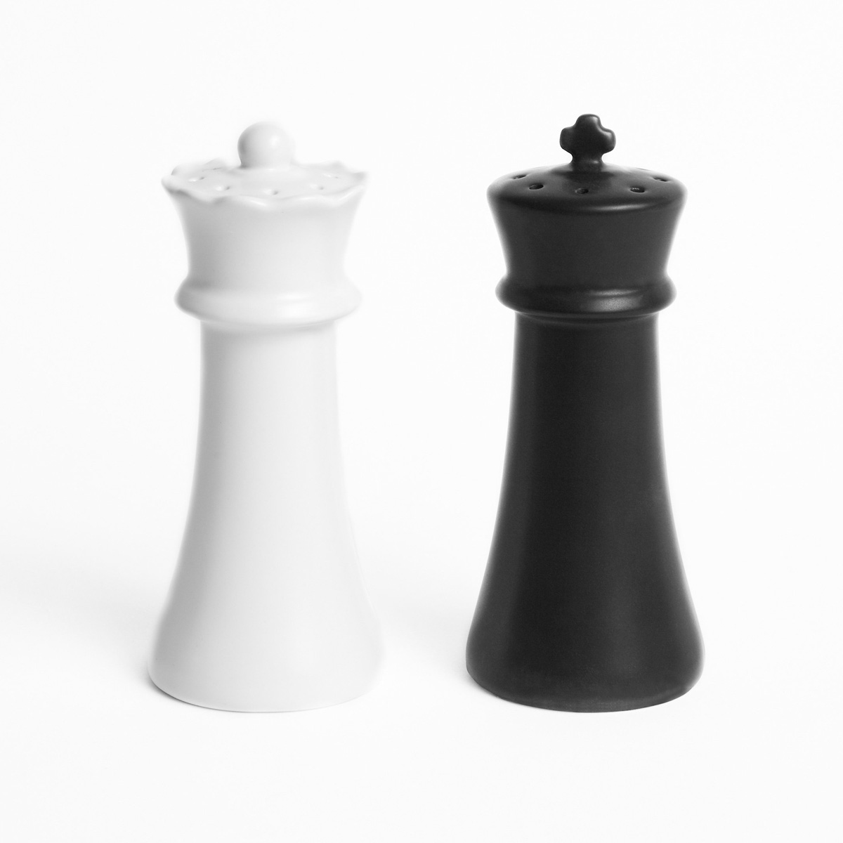 Modern Salt And Pepper Shakers Checkmates Salt And Pepper Shakers