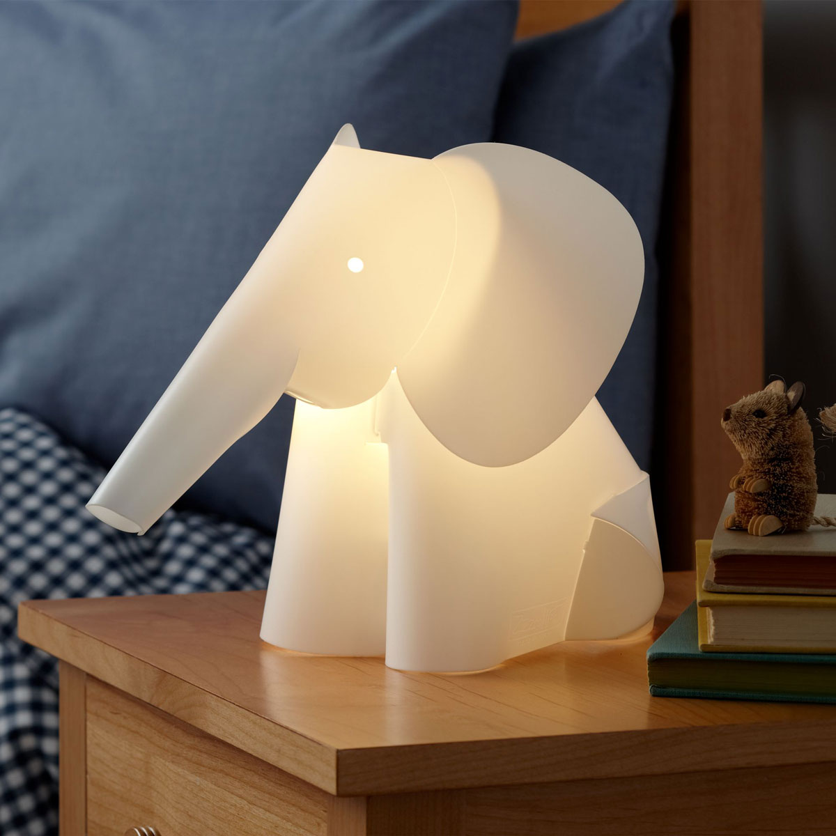 Kids Nightlight Elephant Lamp Nightlight The Green Head