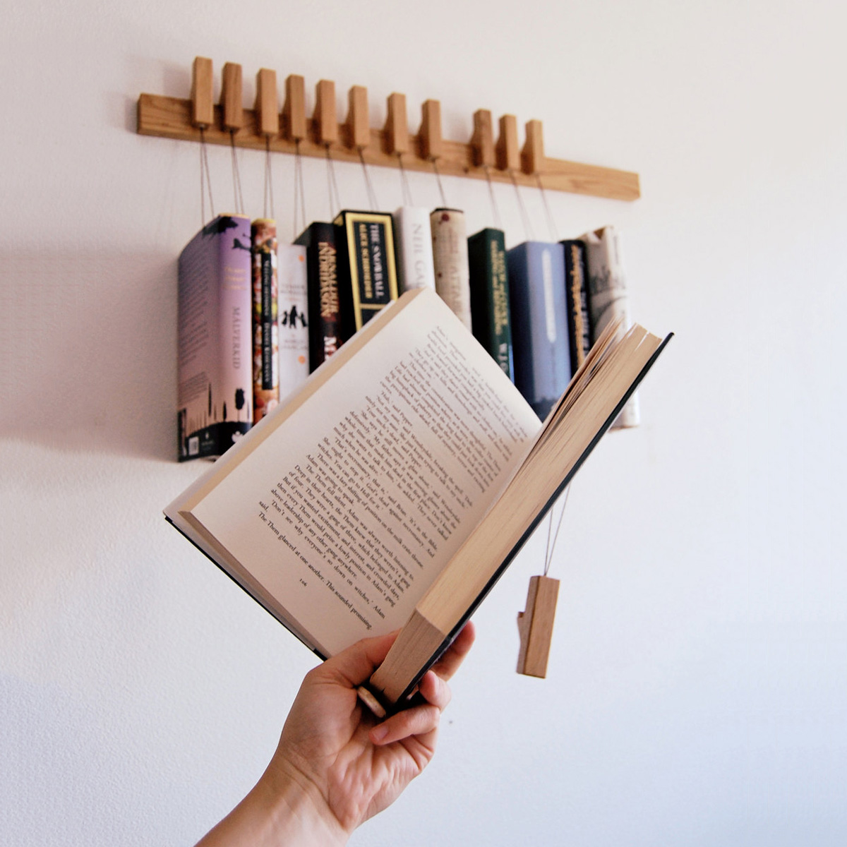 Wall Book Racks Hanging Book Rack