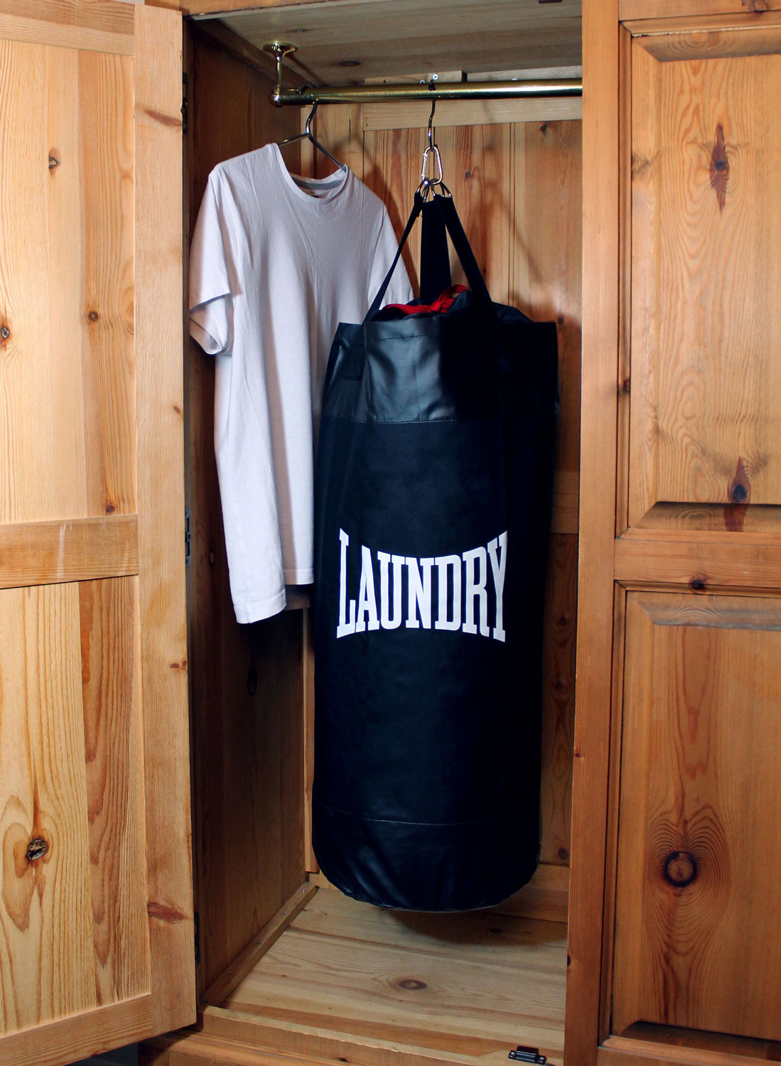 Cool Laundry Hamper Punching Bag Laundry Bag The Green Head