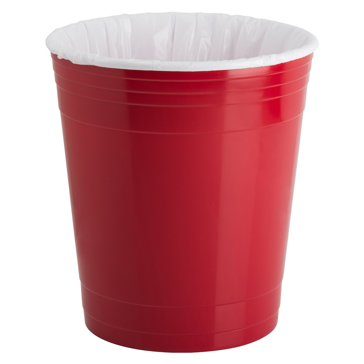 Cool Wastebaskets Red Party Cup Waste Basket The Green Head