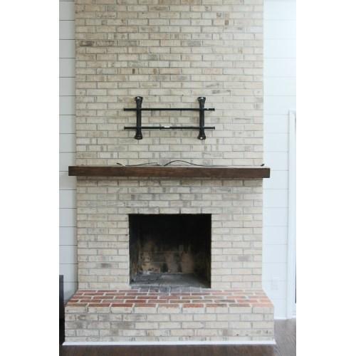 Medium Crop Of Whitewash Brick Fireplace