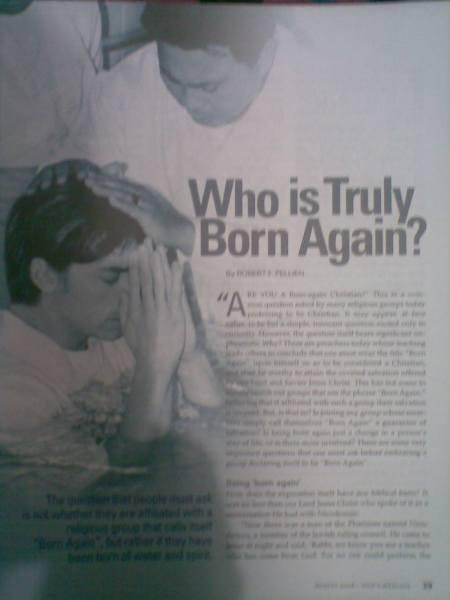 True Born Again Believers