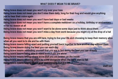What does it mean to be brave? | The Grief Toolbox