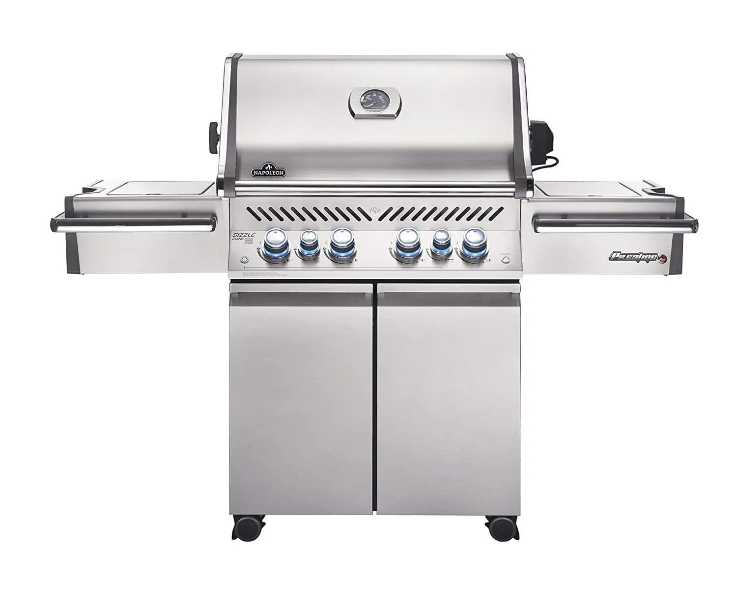 Napoleon Grill Sizzle Zone Napoleon Grills Prestige Pro 500 Propane Gas Grill Stainless Steel