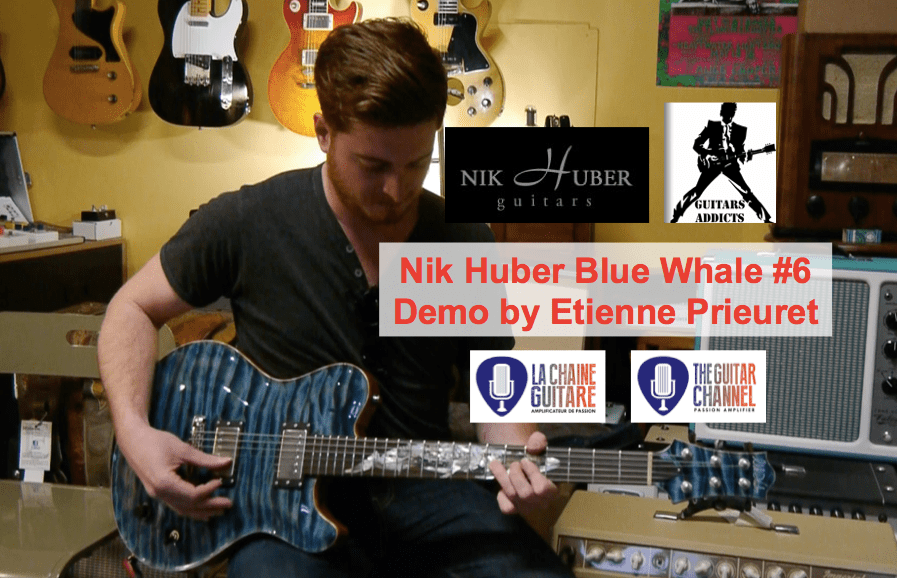Improvised demo of a Nik Huber Blue Whale guitar by Etienne Prieuret