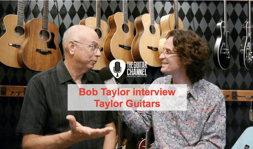 Bob Taylor interview - President and co-founder of Taylor Guitars