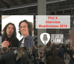 In-depth PhilX interview at the 2016 @Musikmesse
