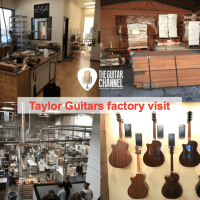 @TaylorGuitars factory tour in video