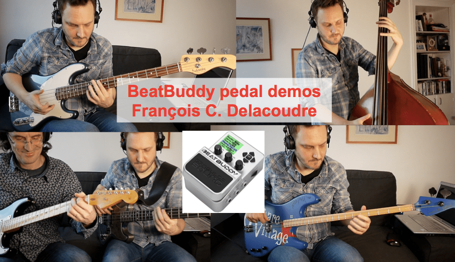 Beatbuddy demos by @FCDLCbass: from contrabass to slap and 2-string bass!
