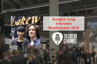 Sungha Jung interview, the latest news from the 2016 Musikmesse