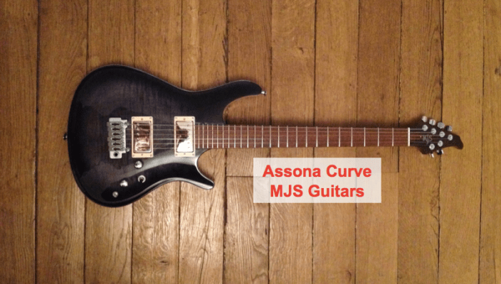 Assona Curve from @MJSGuitars: a great luthier guitar