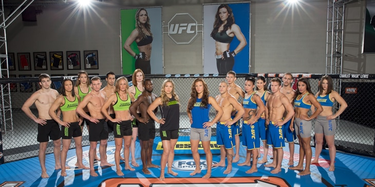 The Ultimate Fighter: Tate vs Rousey - The Guy Blog
