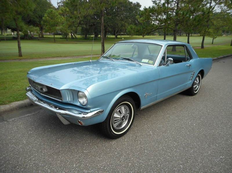 1966 Ford Mustang / The Guy Blog