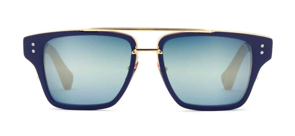 Cool gift ideas for men DITA Mach Three Navy Blue and Gold | The Guy Blog