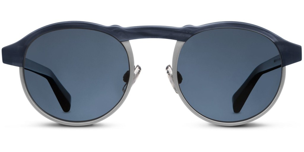 Cool gift ideas for men Warby Parker Bates Striped Pacific | The Guy Blog