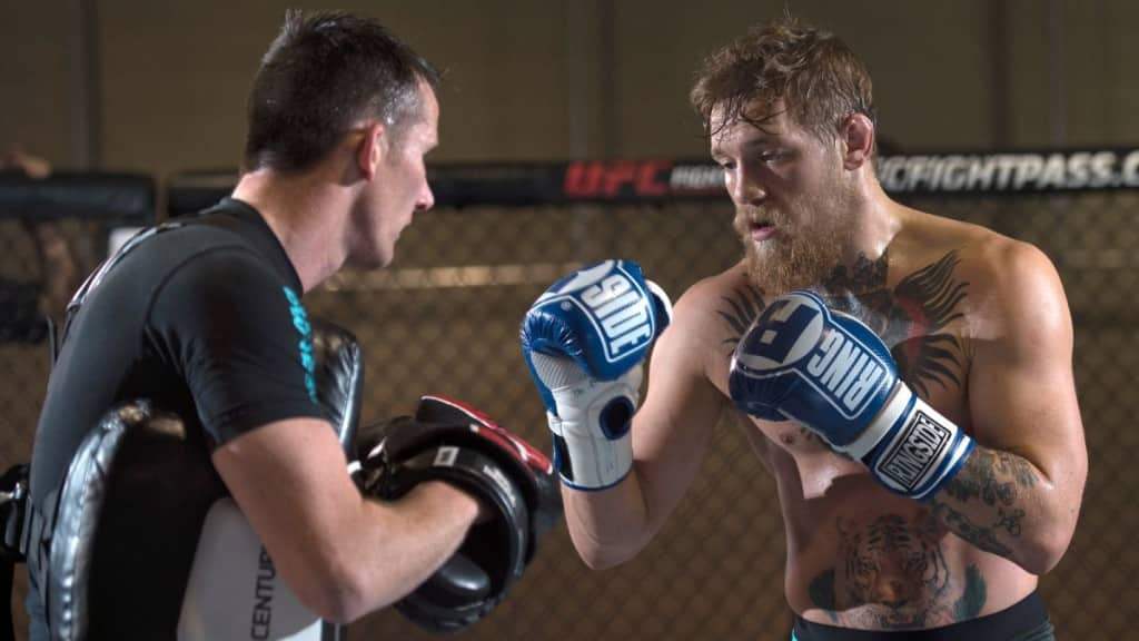 Connor McGregor confidence training| The Guy Blog