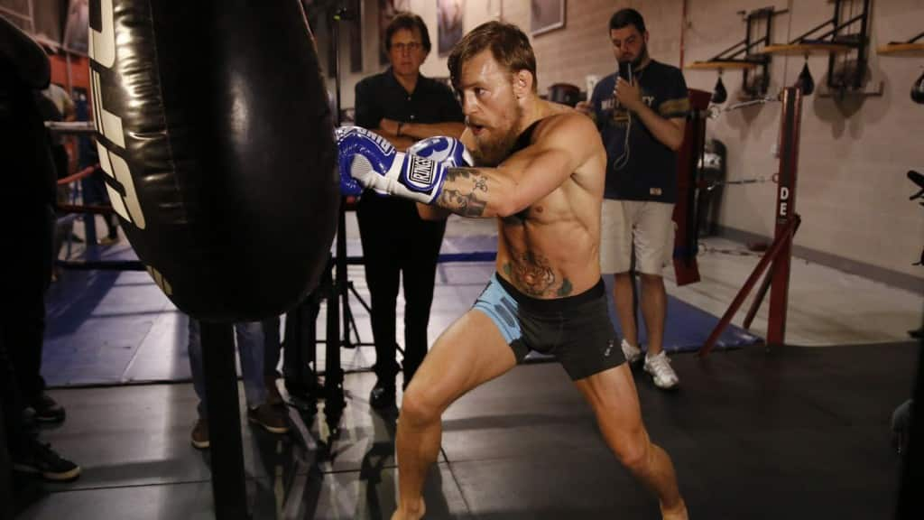 Connor McGregor confidence striking | The Guy Blog