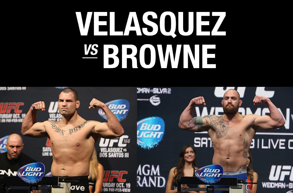UFC 200 Velasquez vs Browne / The Guy Blog