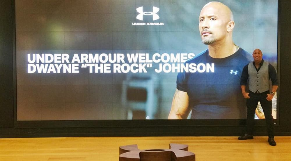 The Rock Under Armour | The Guy Blog