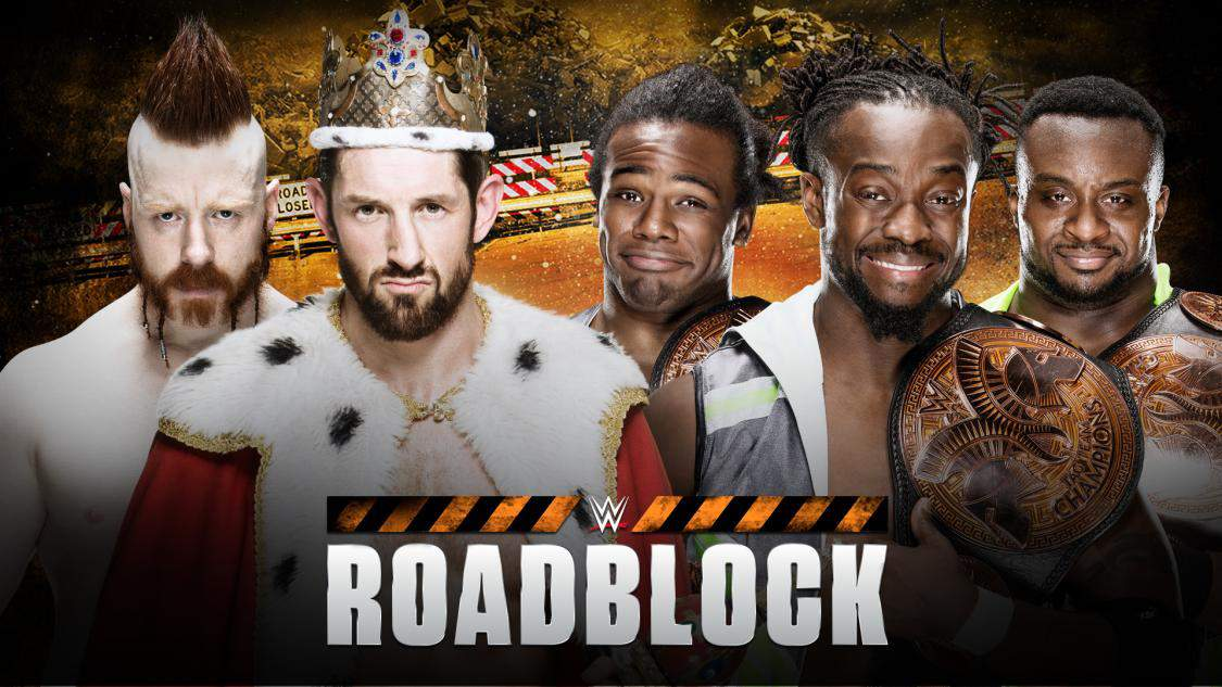 WWE Roadblock New Day League of Nations | The Guy Blog