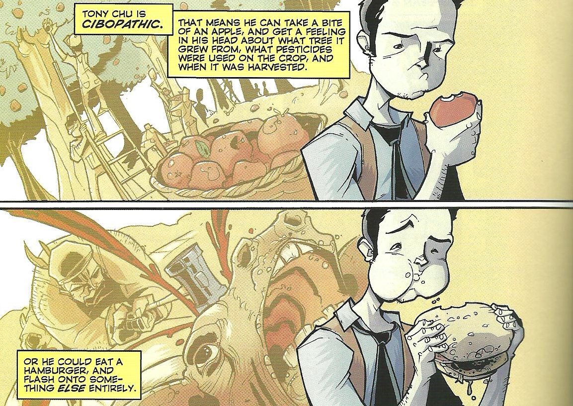 CHEW Comic Book | The Guy Blog