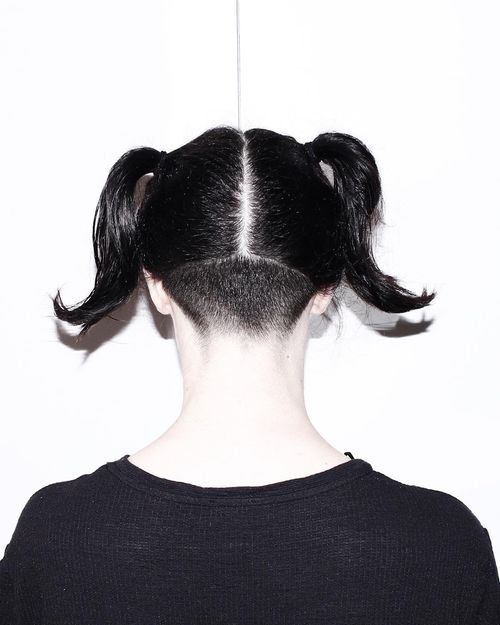 Undercut Black Hair